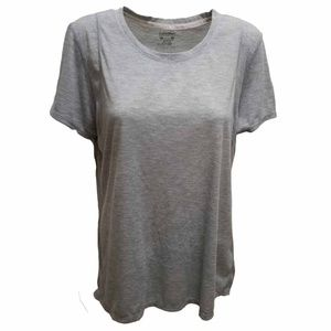 Calvin Klein Performance Epic Pleated-Back T-Shirt